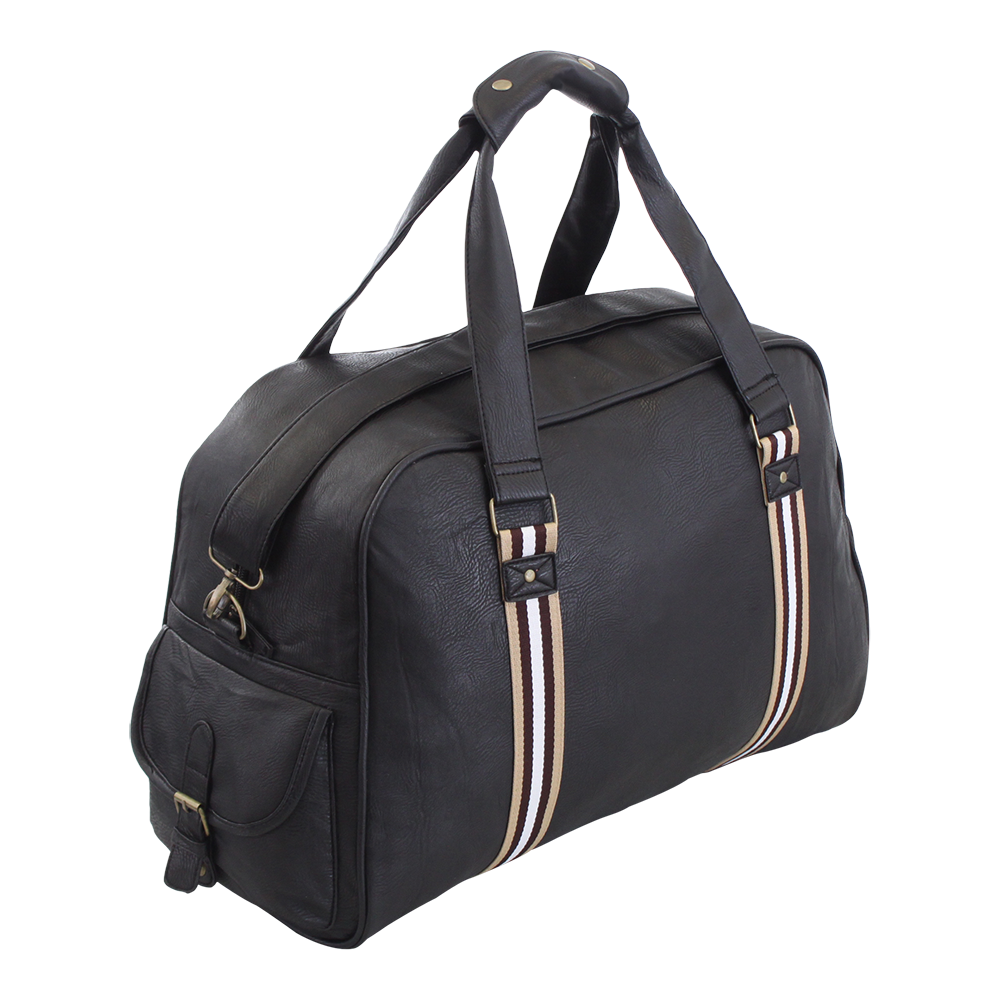 Lightweight Travel Trailer: Large Lightweight Travel Sports Gym Holdall Leather Look