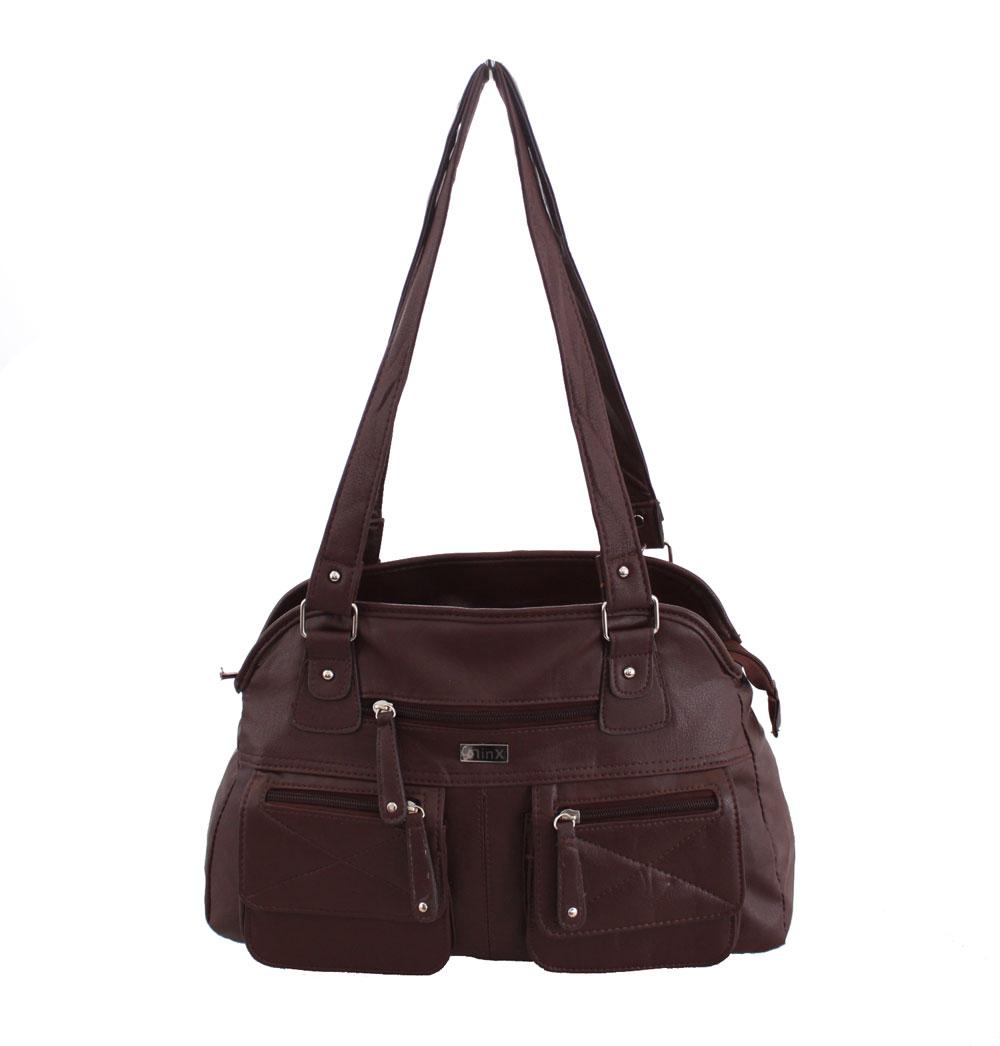 Beautiful Womens Designer Office Faux Leather Tote Bag Ladies Shoulder Handbag Work New | EBay