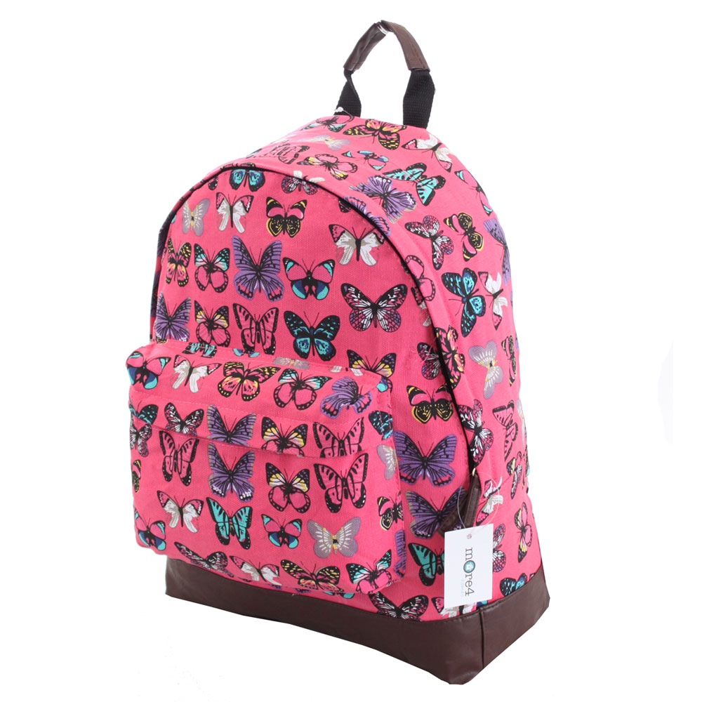 Pink Girls Backpack - Crazy Backpacks