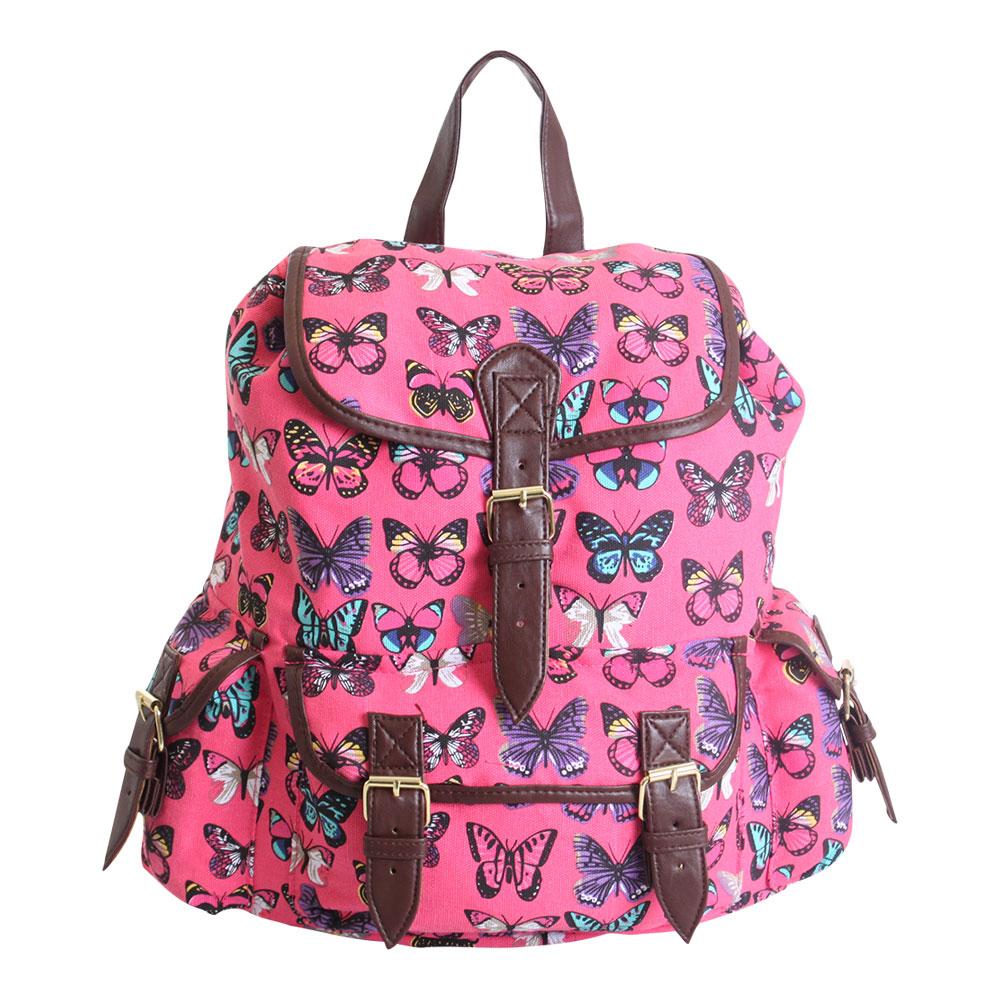 School bags messenger girl - Canvas Backpack Rucksack School Gym College Travel Shoulder Bag New