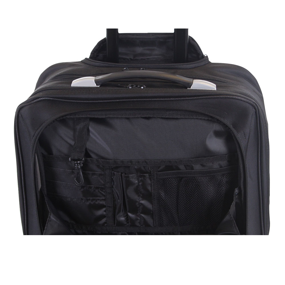 Wheeled cabin laptop business suitcase briefcase pilot for Laptop cabin bag