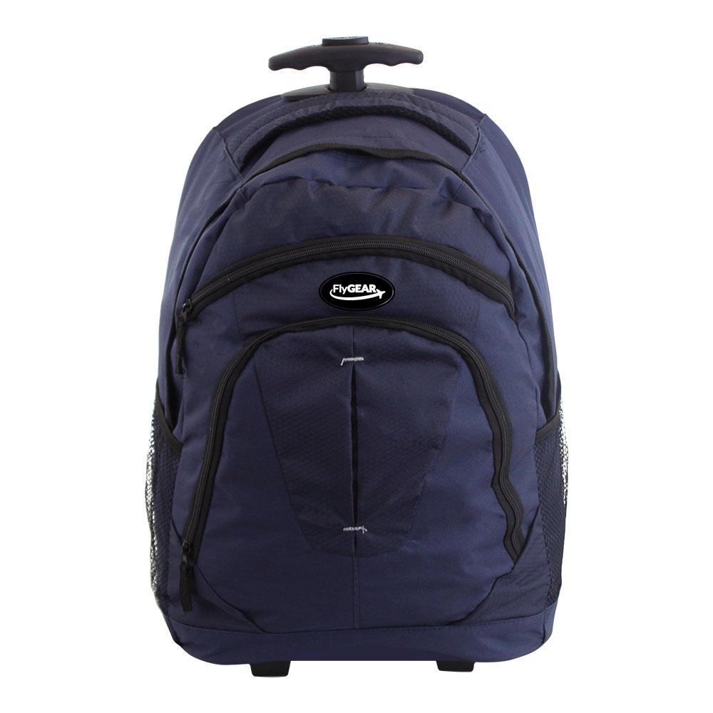 wheeled cabin travel trolley backpack business hand luggage holdall flight bag ebay. Black Bedroom Furniture Sets. Home Design Ideas