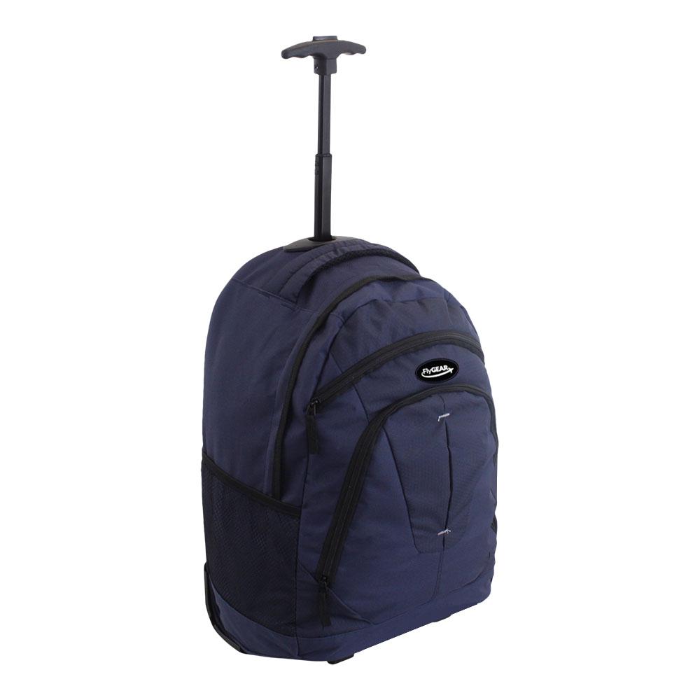 cabin wheeled business travel backpack rucksack trolley hand luggage flight bag ebay. Black Bedroom Furniture Sets. Home Design Ideas