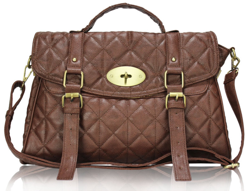 Ladies-Designer-Style-Faux-Leather-Satchel-Handbag-Office-Laptop-Bag-New