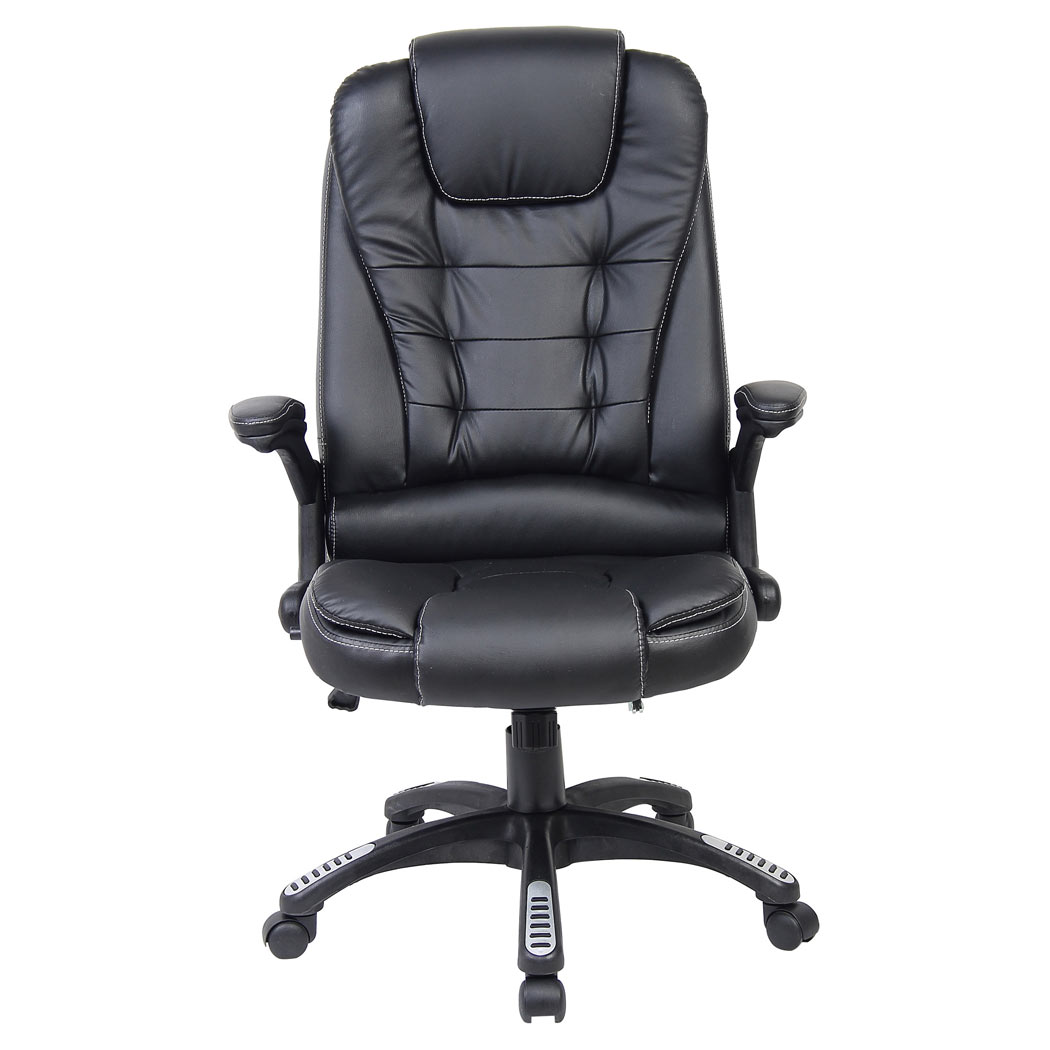 Rio Black Luxury Reclining Executive Office Desk Chair