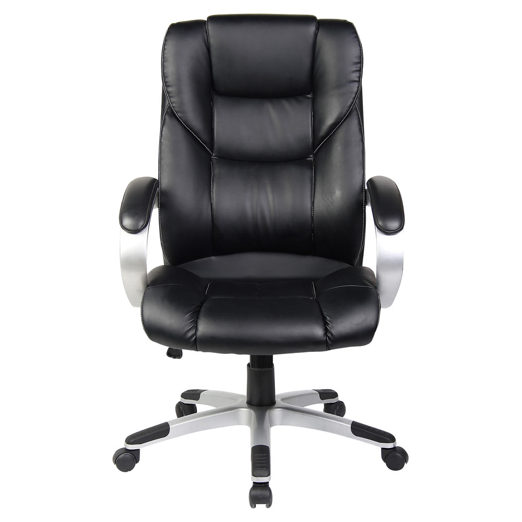 HIGH BACK LUXURY EXECUTIVE OFFICE CHAIR LEATHER PUTER