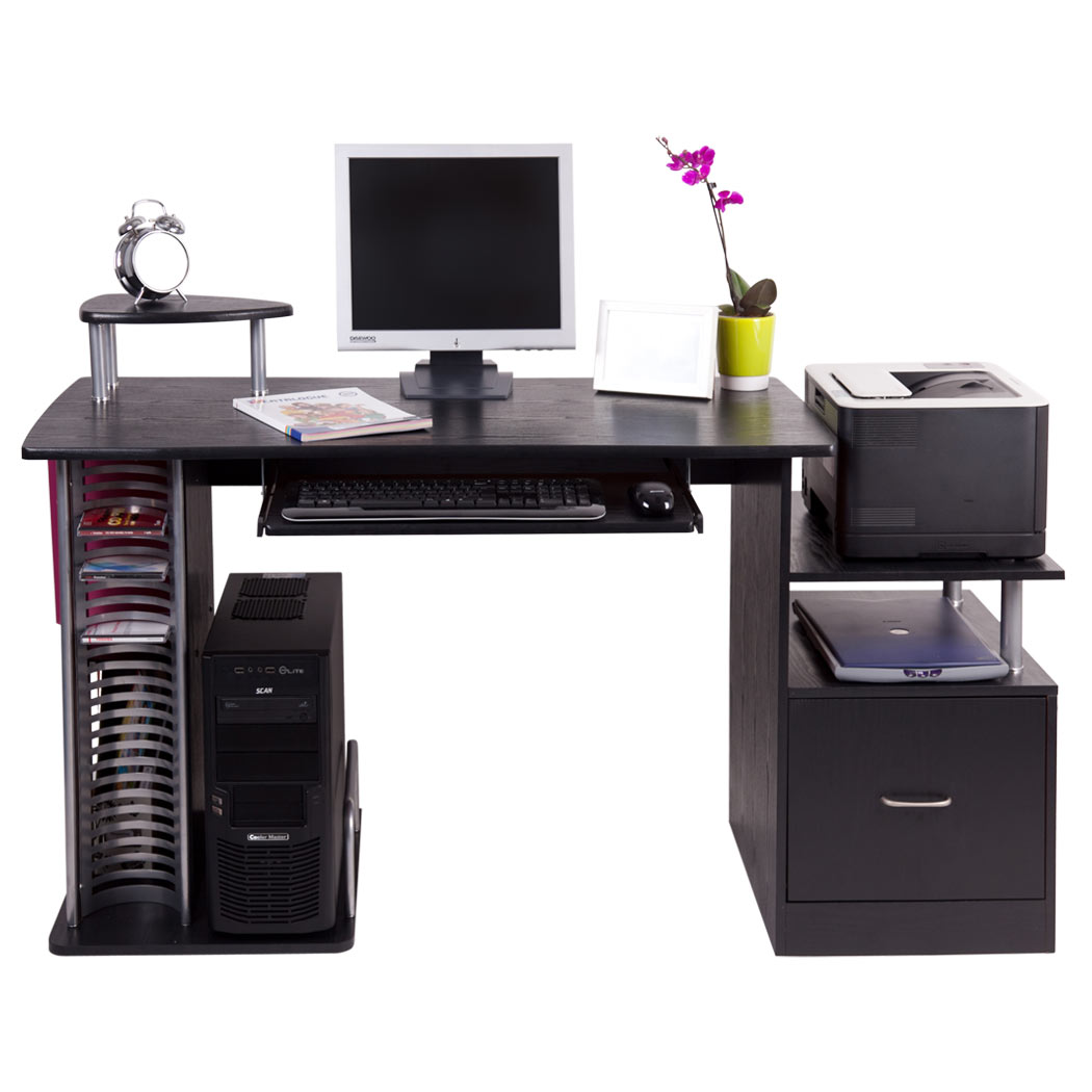 San diego computer desk work station pc table bench home office study furniture ebay - Home office furniture san diego ...