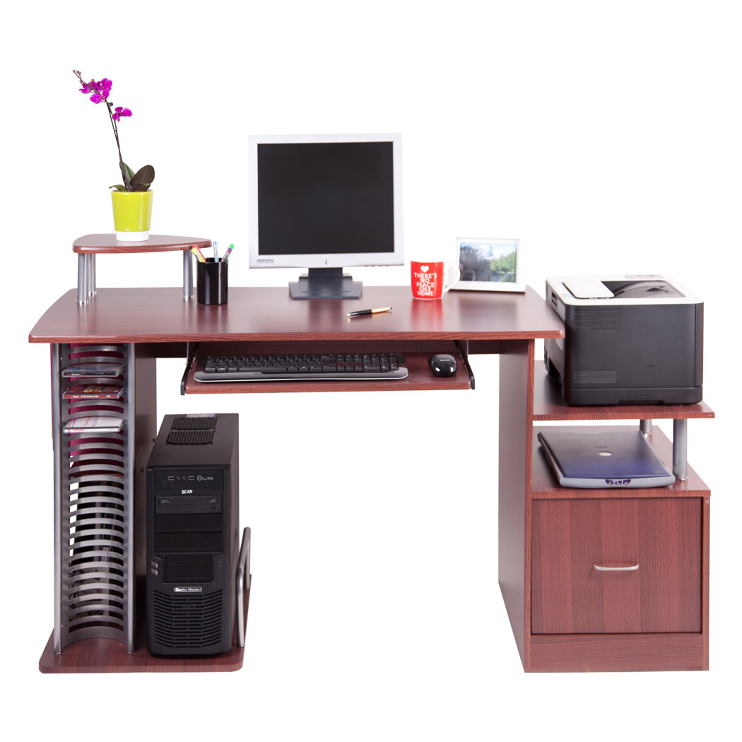 San Diego Computer Desk Work Station Pc Table Bench Home