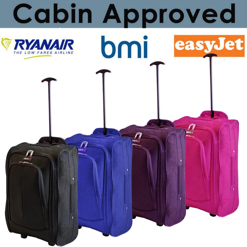 Ryanair cabina aprobado bolsa de viaje maleta con ruedas viaje bolsa de maletas de vuelo ebay - Cabina ryanair ...