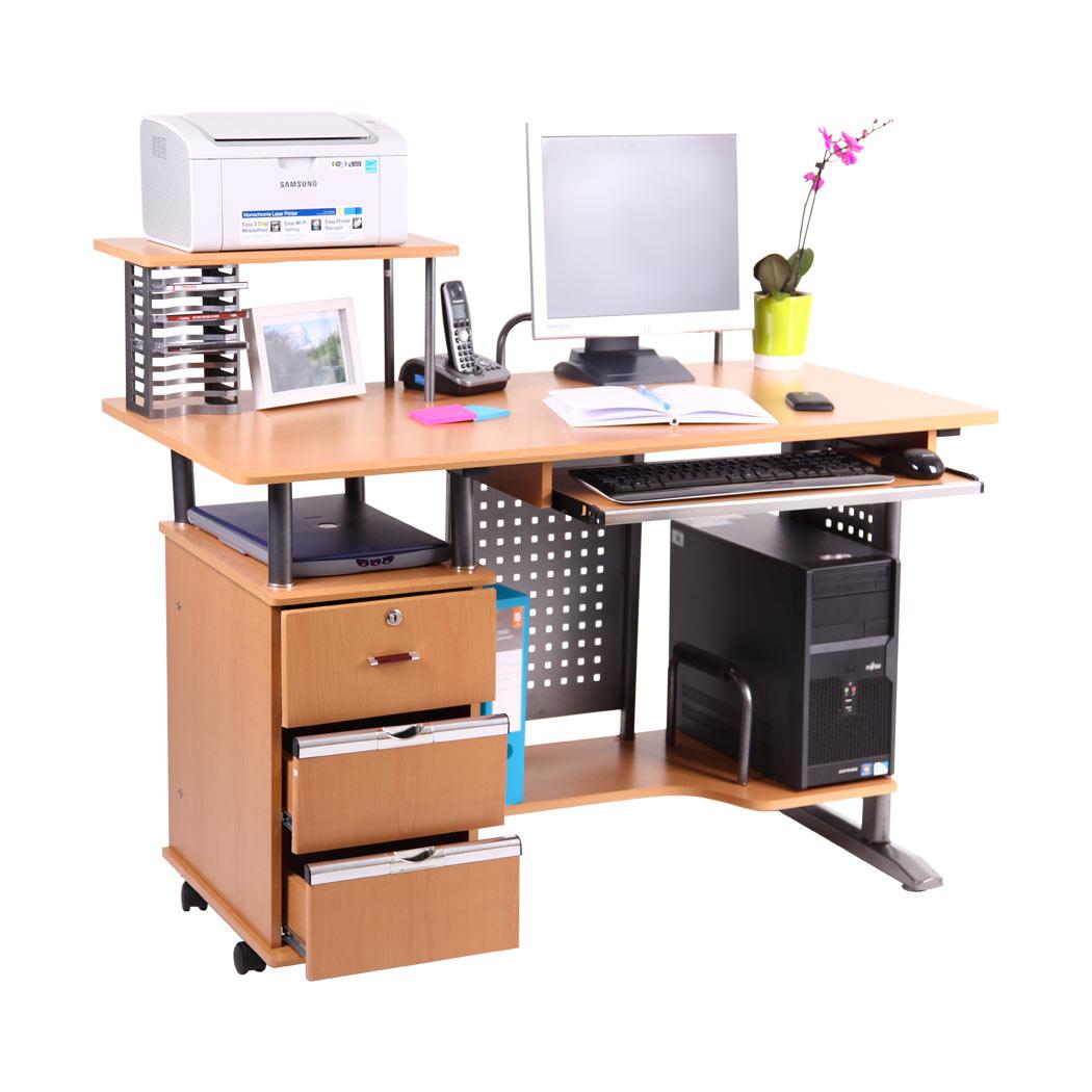 San Ramon Computer Desk Work Station Pc Table Bench Home