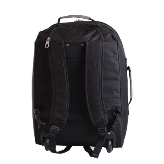 trolley reisetasche ryanair leichtes handgep ck sporttasche rucksack mit rollen ebay. Black Bedroom Furniture Sets. Home Design Ideas