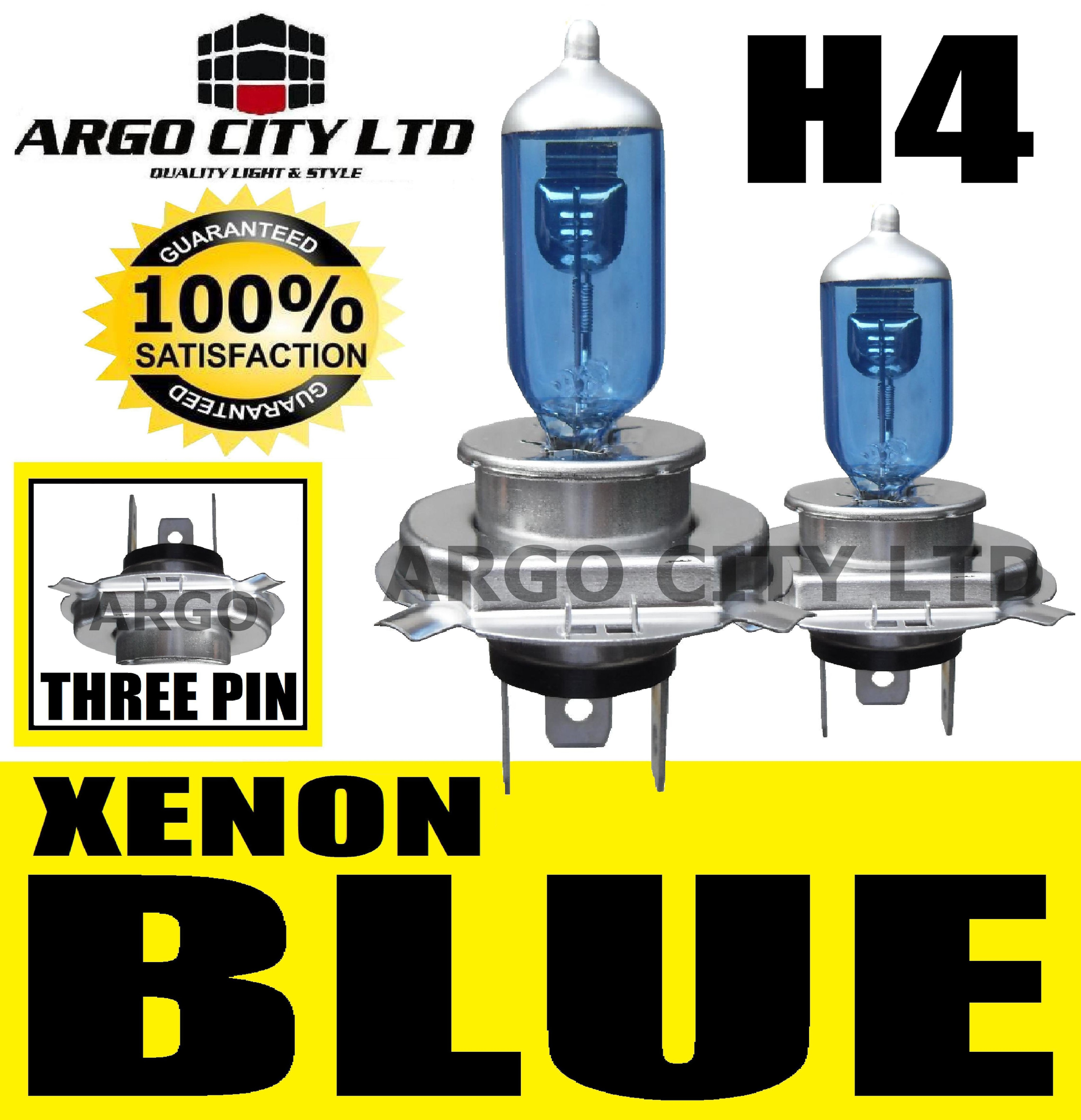 H4 XENON ICE BLUE 55W 472 HEADLIGHT BULBS Renault Trucks Midliner
