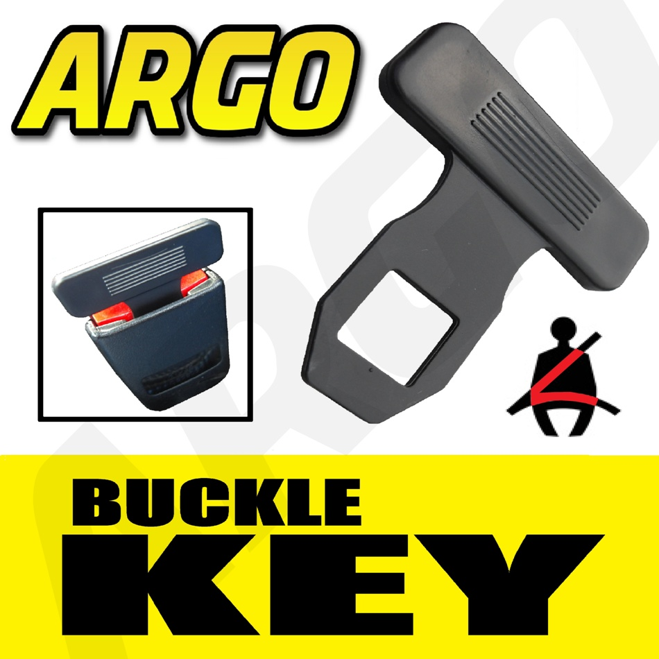 Argo Safety Belt : Seat belt alarm buckle key clip safety clasp stop skoda
