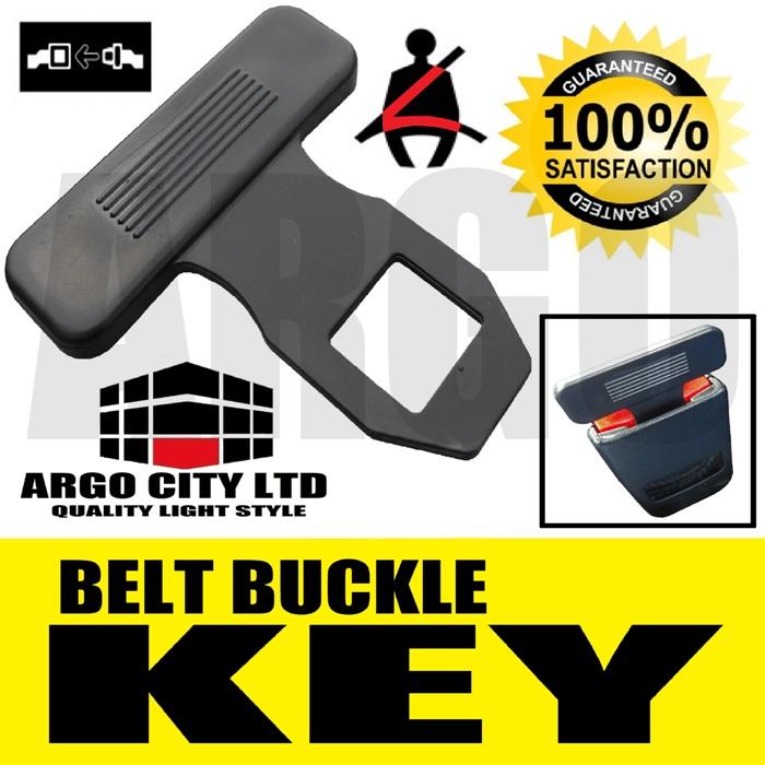 Argo Safety Belt : Seat belt alarm buckle key clip safety clasp stop toyota