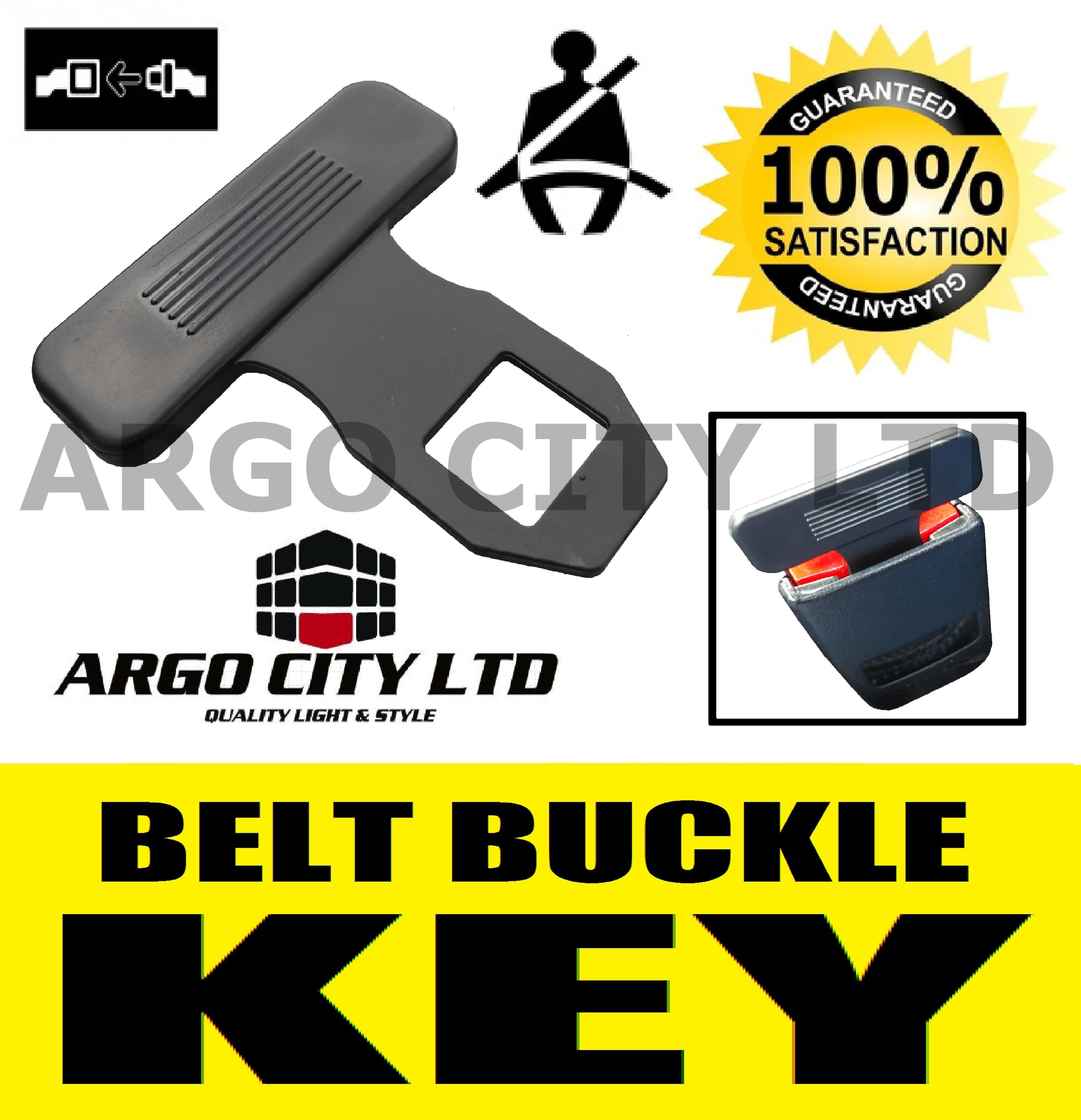 Argo Safety Belt : Seat belt alarm buckle key clip safety clasp stop nissan
