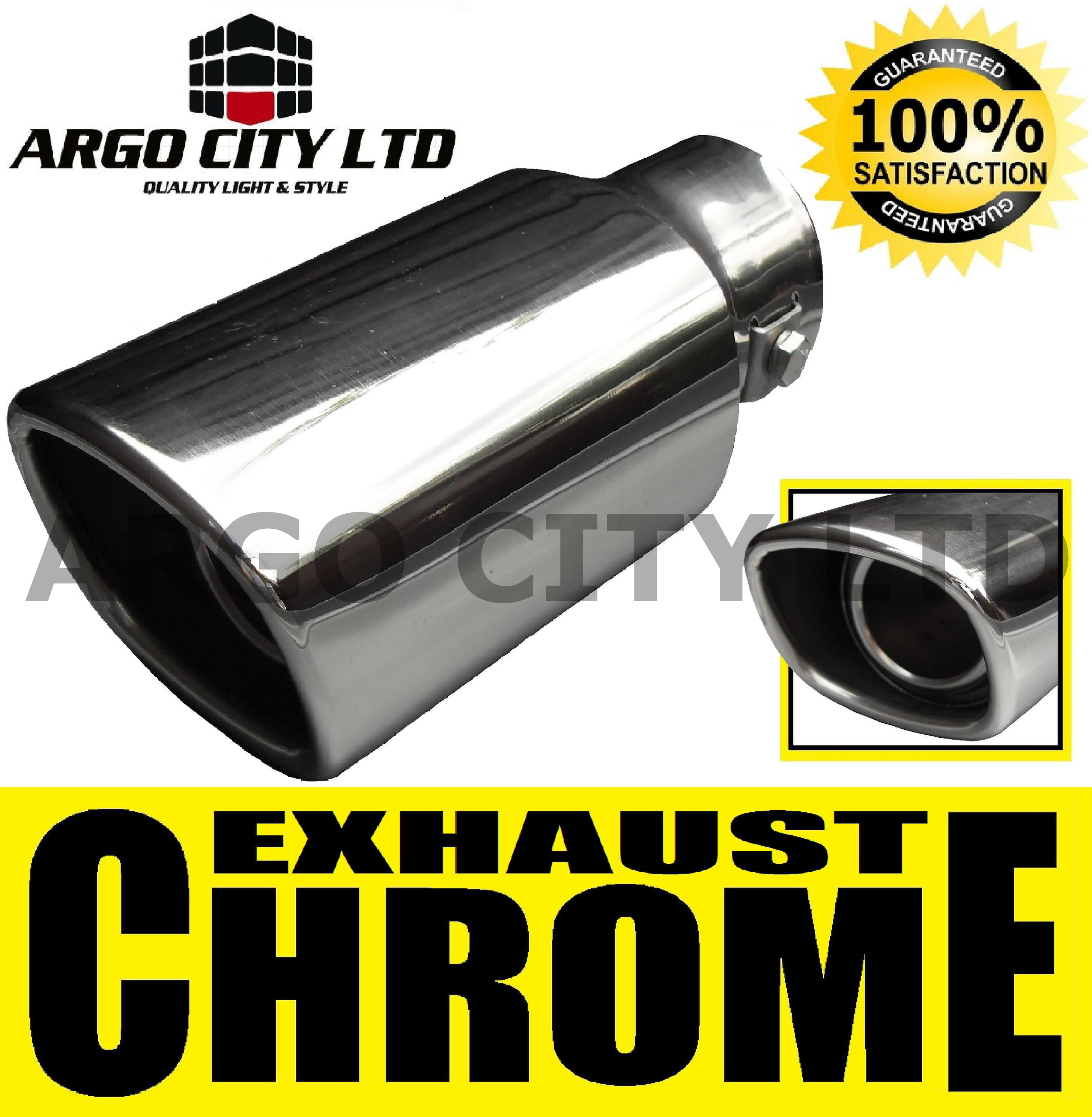 CHROME EXHAUST TAIL PIPE AUDI A1 A2 A3 SPORTBACK 80 100