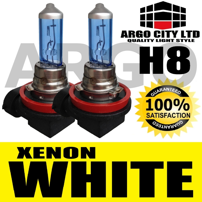 H8 35W 12V XENON WHITE HID FRONT FOG LIGHT BULBS NISSAN NOTE MPV