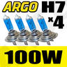 View Item H7 XENON SUPER WHITE 100W BULBS DIPPED MAIN BEAM 12V HEADLIGHT HEADLAMP HID LIGHT X 4