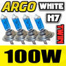 View Item H7 WHITE 100W XENON BULBS SUPER BRIGHT WHITE LIGHT HIGH QUALITY UK SELLER