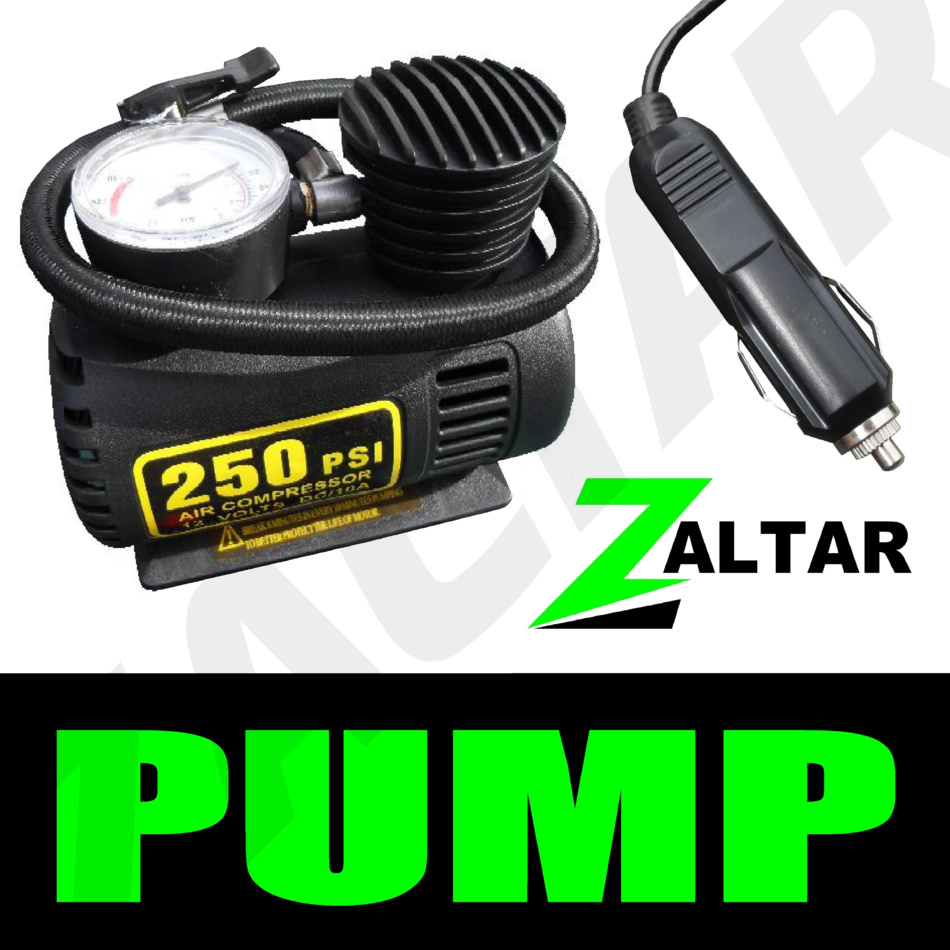 12v voiture lectrique pompe air inflateur pneu compresseur ebay. Black Bedroom Furniture Sets. Home Design Ideas
