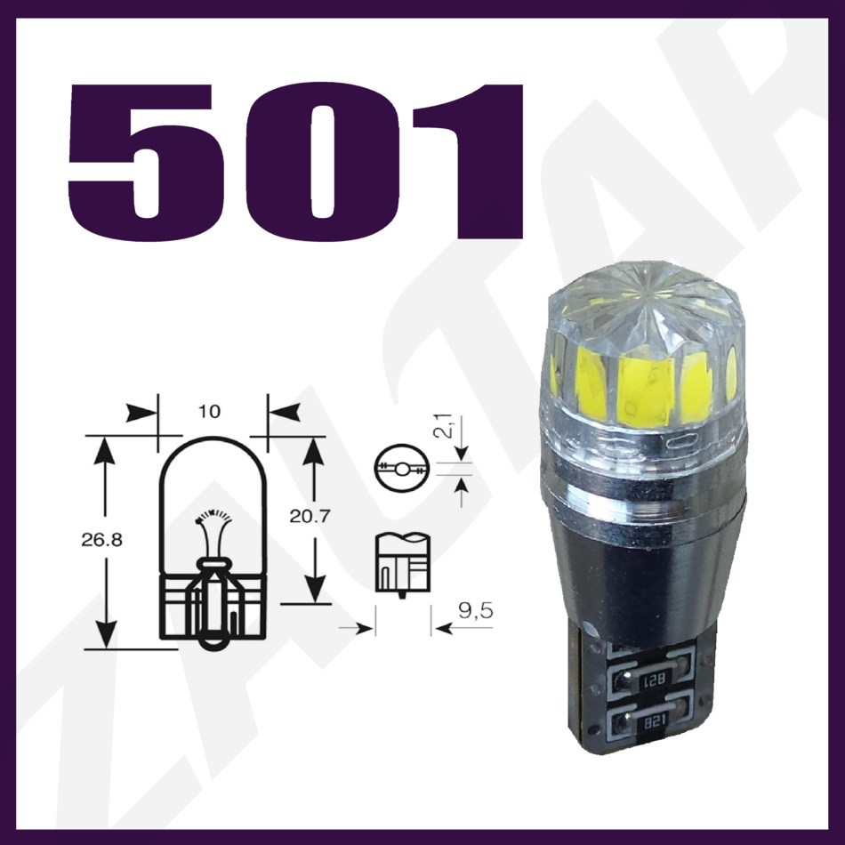 h7 100w xenon sehr helle wei gl hlampen x2 paar 501 cree smd led ebay. Black Bedroom Furniture Sets. Home Design Ideas
