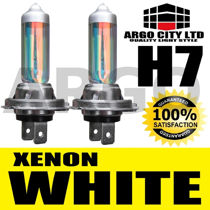 H7 XENON WHITE HEADLIGHT BULBS MERCEDES C-KLASSE SLK CL