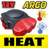 View Item 12V AUTO 2IN1 FAN HEATER COOLER DEFROSTER DEMISTER CAR CERAMIC HEATING COOLING
