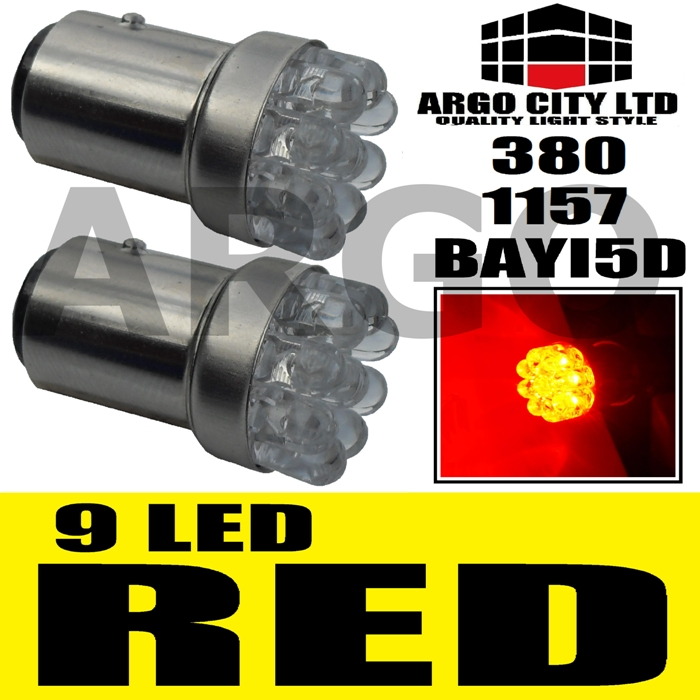 9 LED STOP TAIL LIGHT BULBS 380 MINI COOPER ONE S D