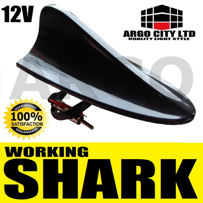 BLACK SHARK FIN AERIAL ANTENNA MINI COOPER ONE CLUBMAN