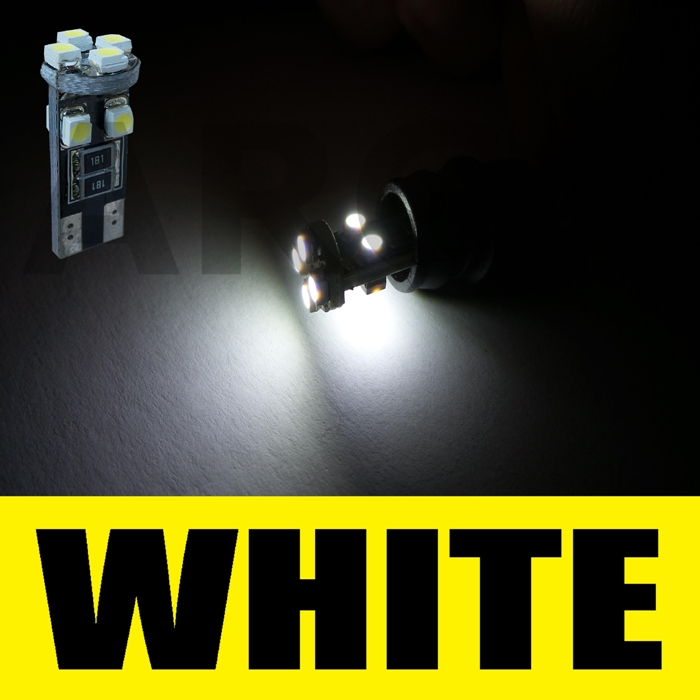 ERROR FREE CANBUS W5W T10 501 8 SMD LED SIDE LIGHT BULB