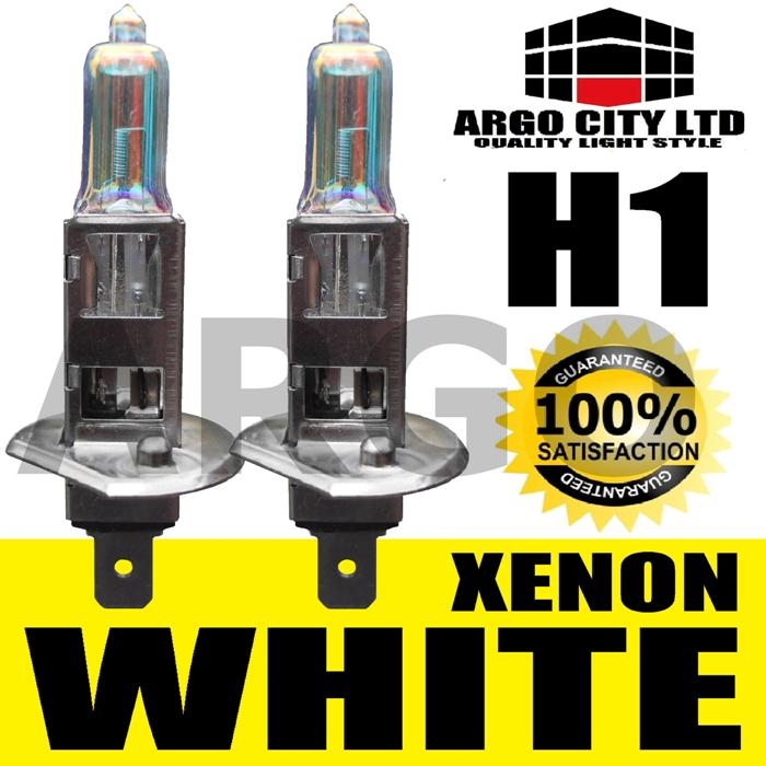 H1 55W XENON SUPER WHITE 448 HEADLIGHT BULBS DAIMLER DAIMLER SOVEREIGN 3.4,4.2