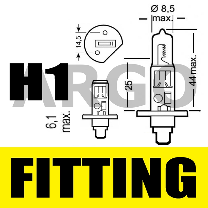 H1 55W XENON SUPER WHITE 448 FOG SPOT LIGHT LAMP BULBS HID BMW 3 SERIES