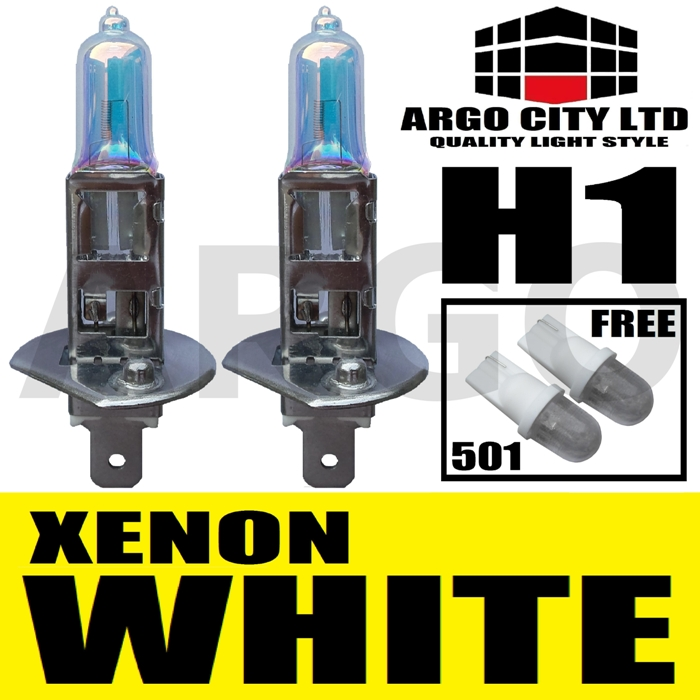 H1 55W XENON SUPER WHITE 448 FOG SPOT LIGHT LAMP BULBS HID CHEVROLET CAMARO