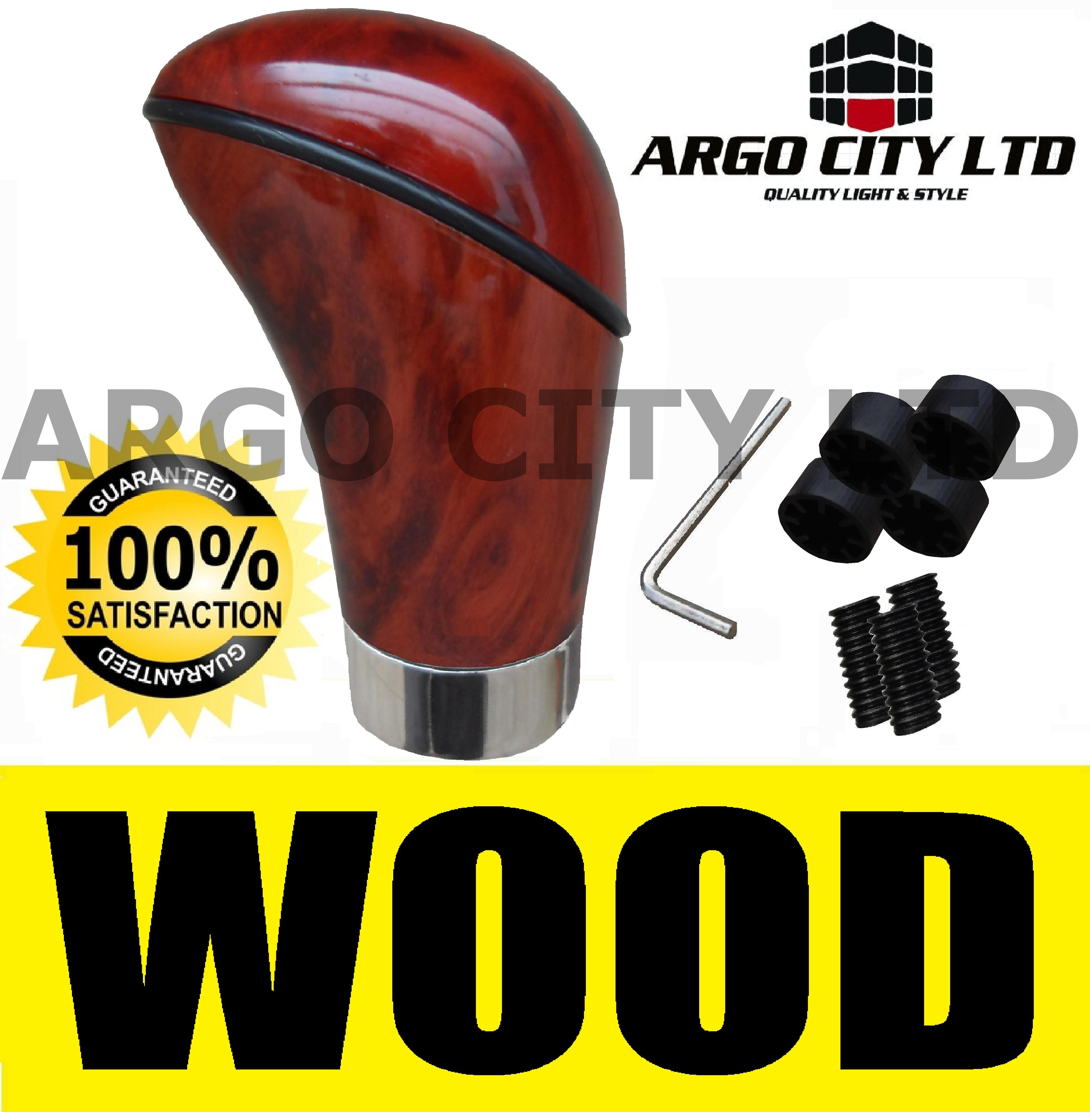 WOOD EFFECT GEAR KNOB FREELANDER DISCOVERY DEFENDER 4X4