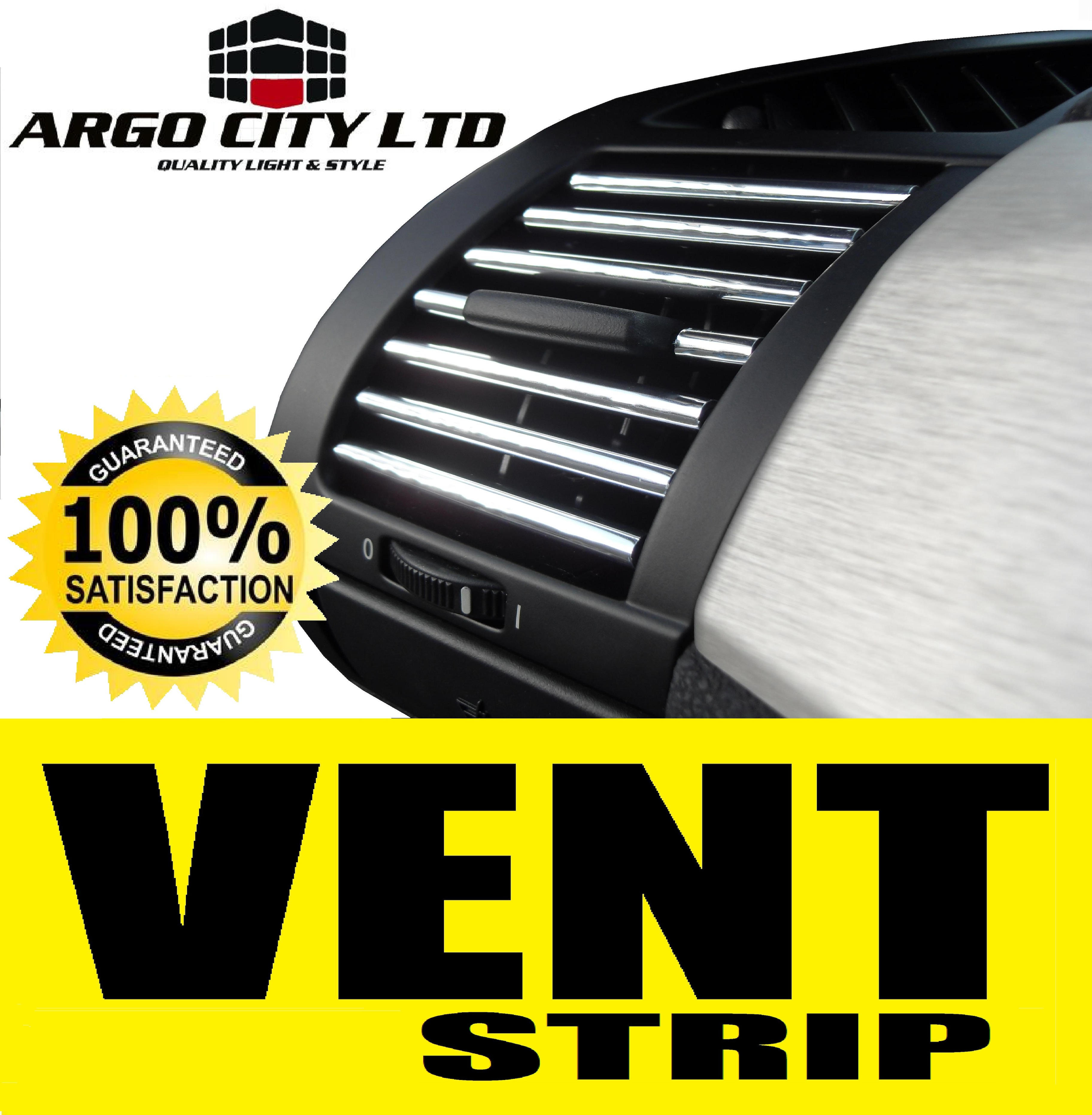 CHROME AIR VENT STRIP TRIM GRILLE CAR MG ZT SALOON