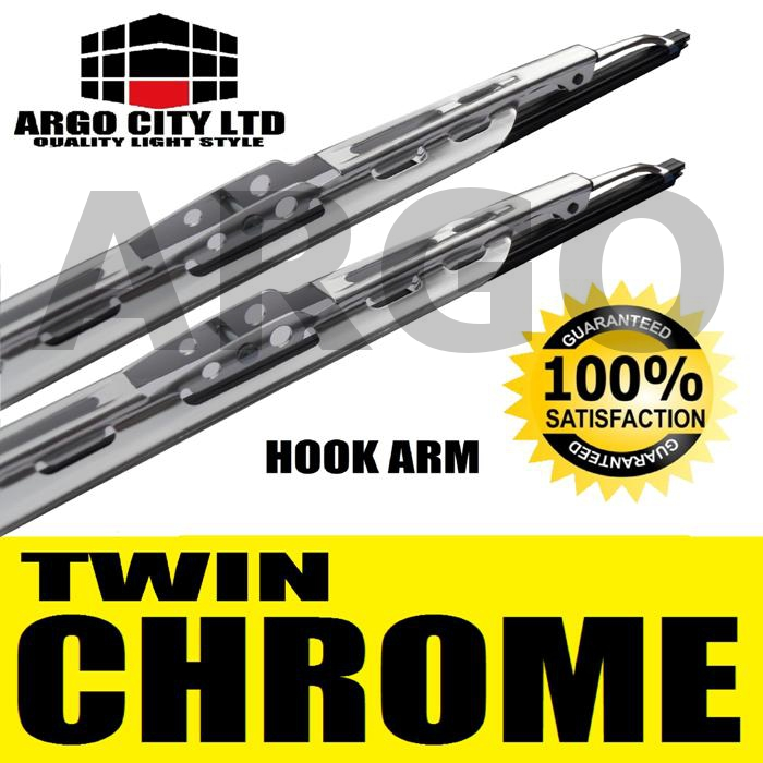 CHROME WIPERS BLADES JAGUAR X S TYPE XJ XK XKR XF XFR