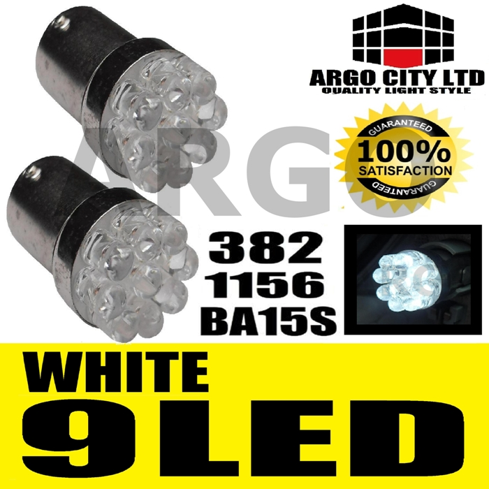 9 LED REVERSE LIGHT BULBS MG MGTF MG TF MGF ZR ZS ZT SV