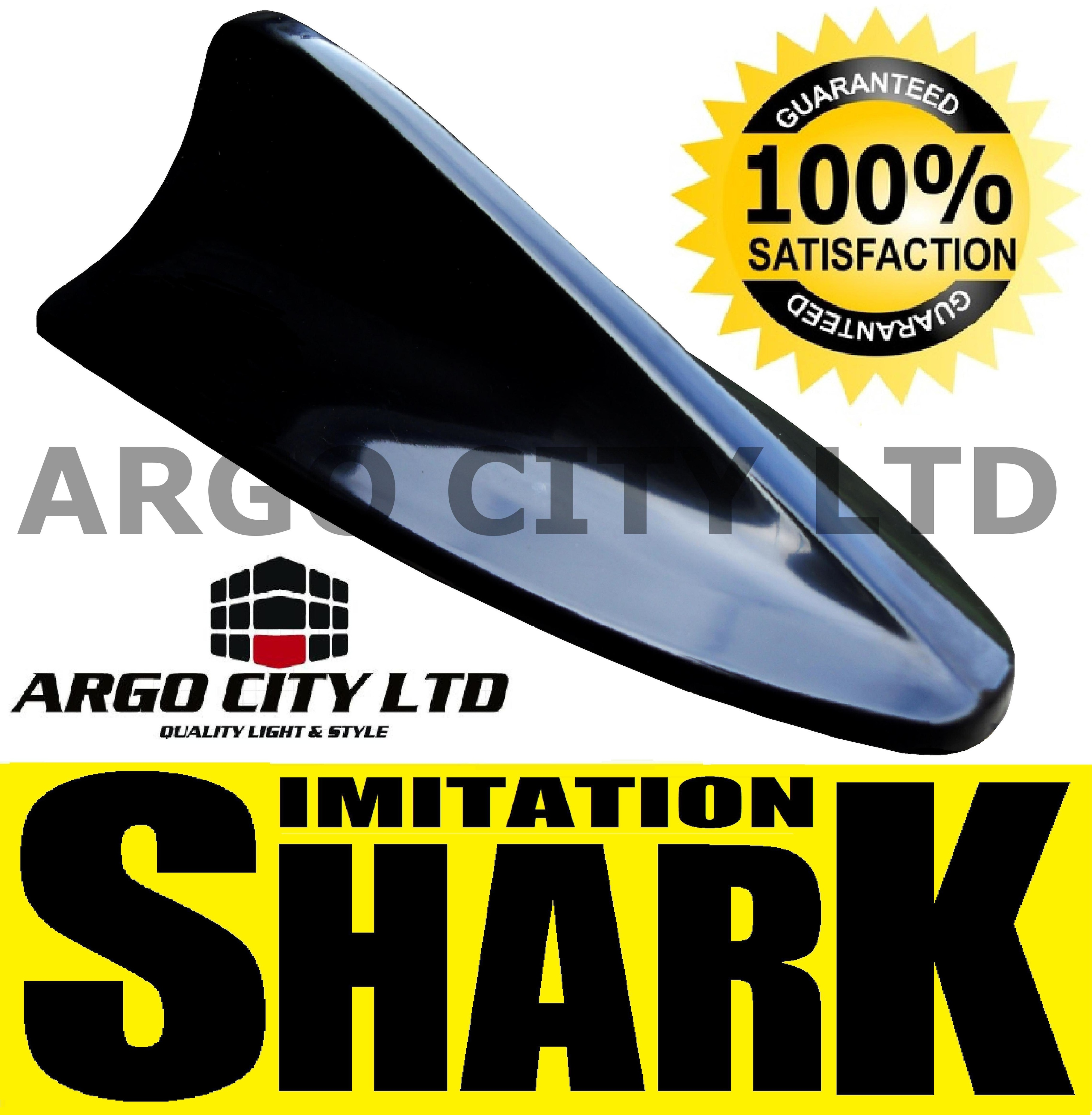 BLACK SHARK FIN DUMMY IMITATION REPLICA AERIAL BMW 1 SERIES HATCHBACK