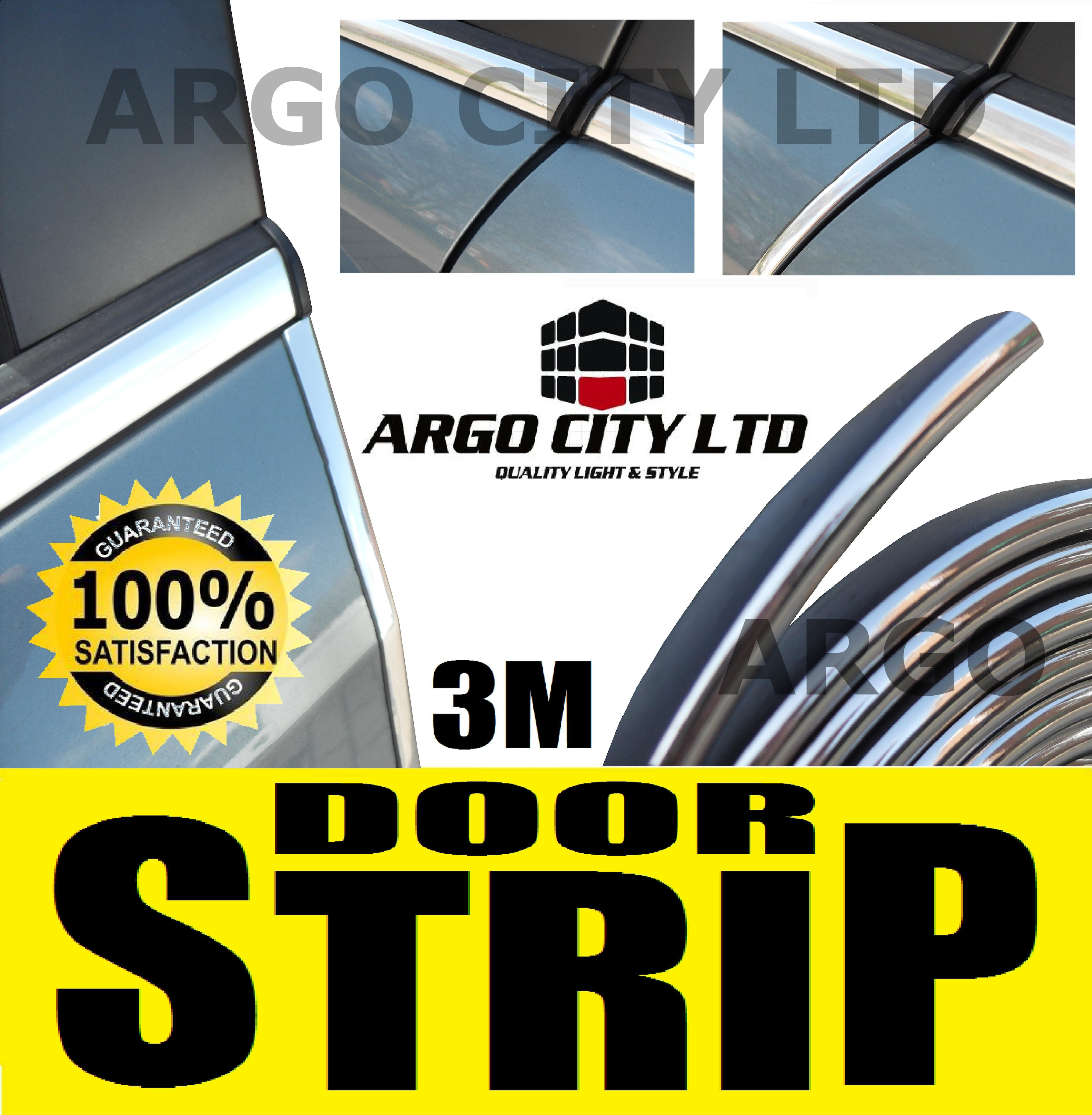 CHROME DOOR EDGE STRIP PROTECTOR MITSUBISHI L200
