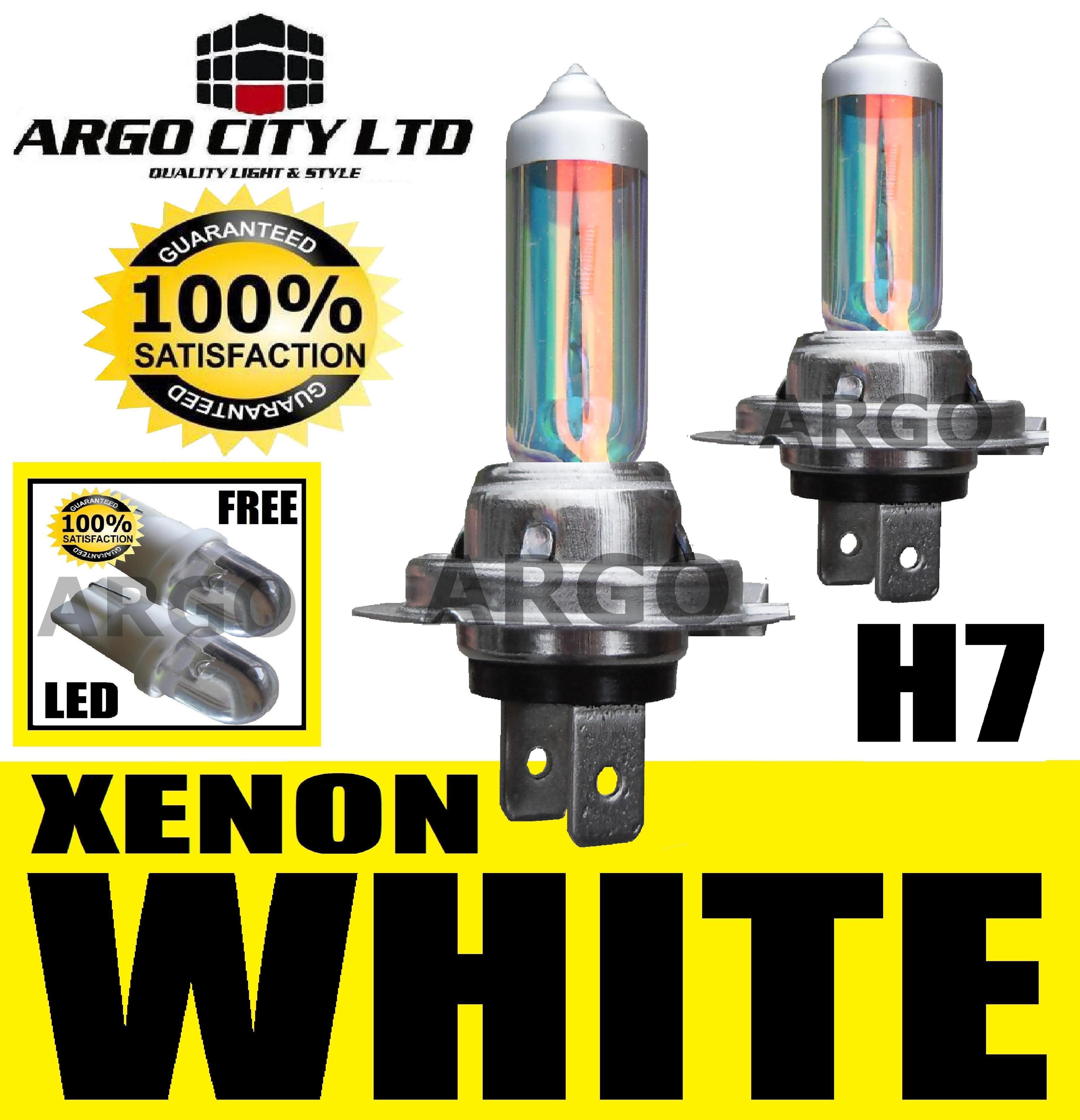 H Xenon Super White  Headlight Bulbs V Opel Corsa