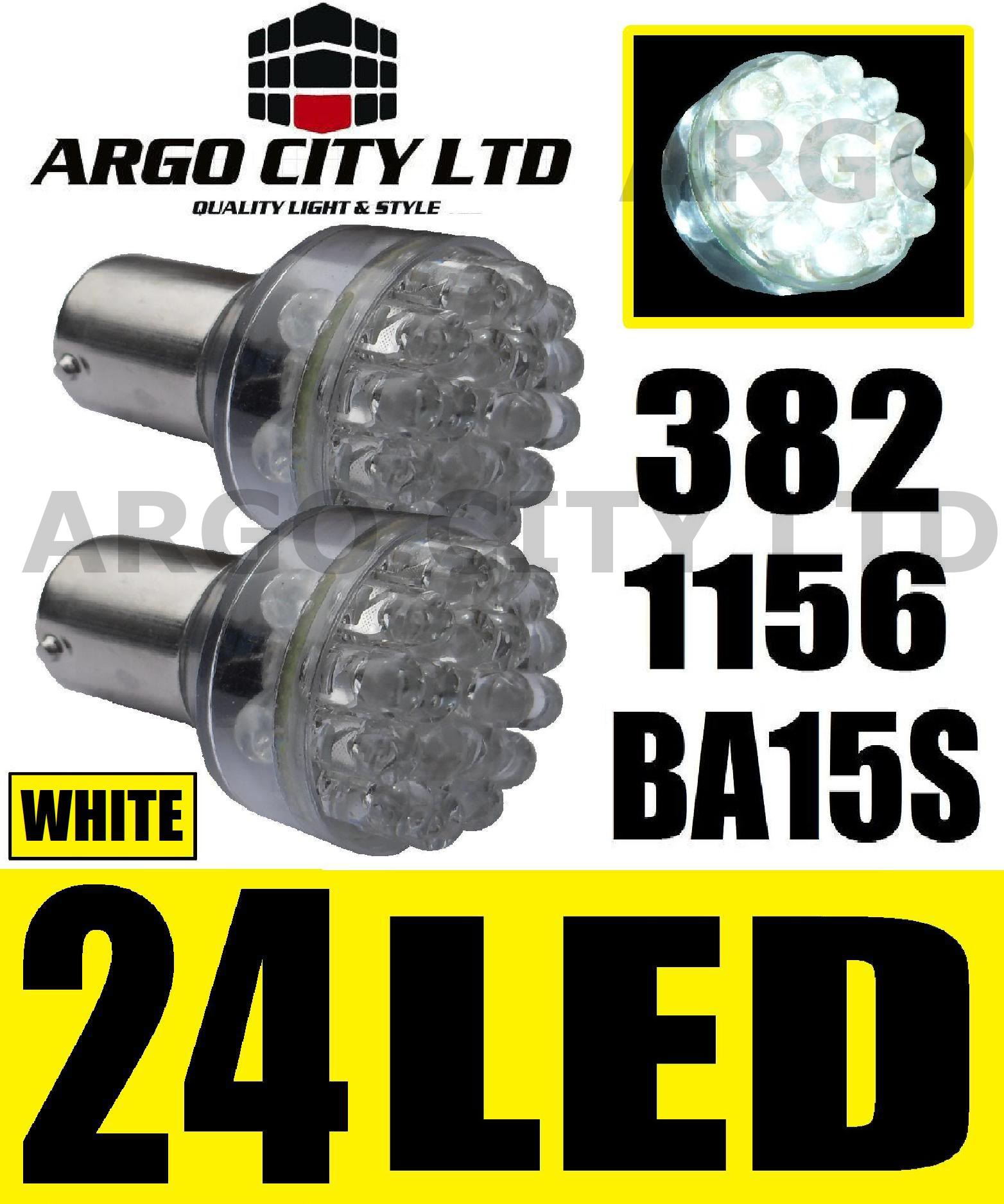 24 LED 382 1156 BA15S BULBS LOTUS ESPRIT