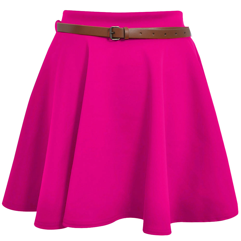 Pink Mini Skirts - Dress Ala