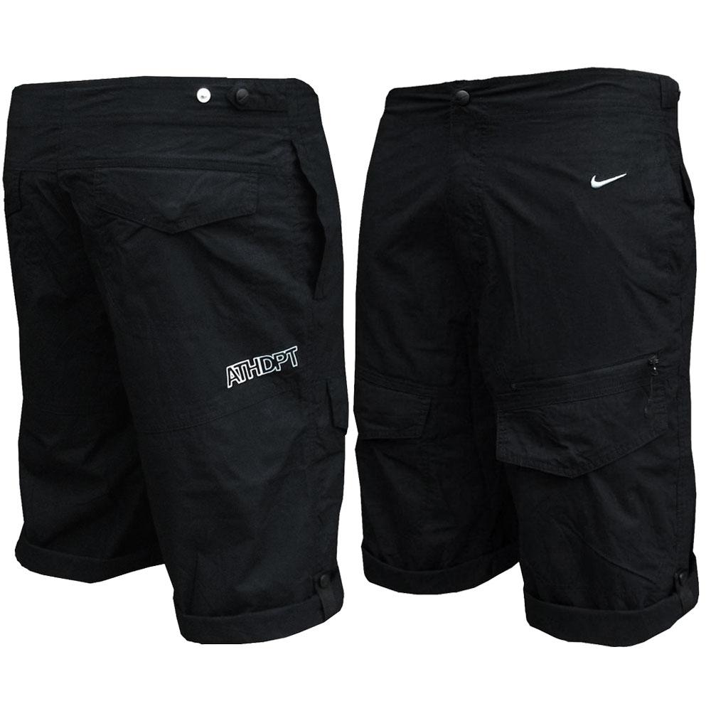 nike shorts mens nike athlete dept 34 long black cargo