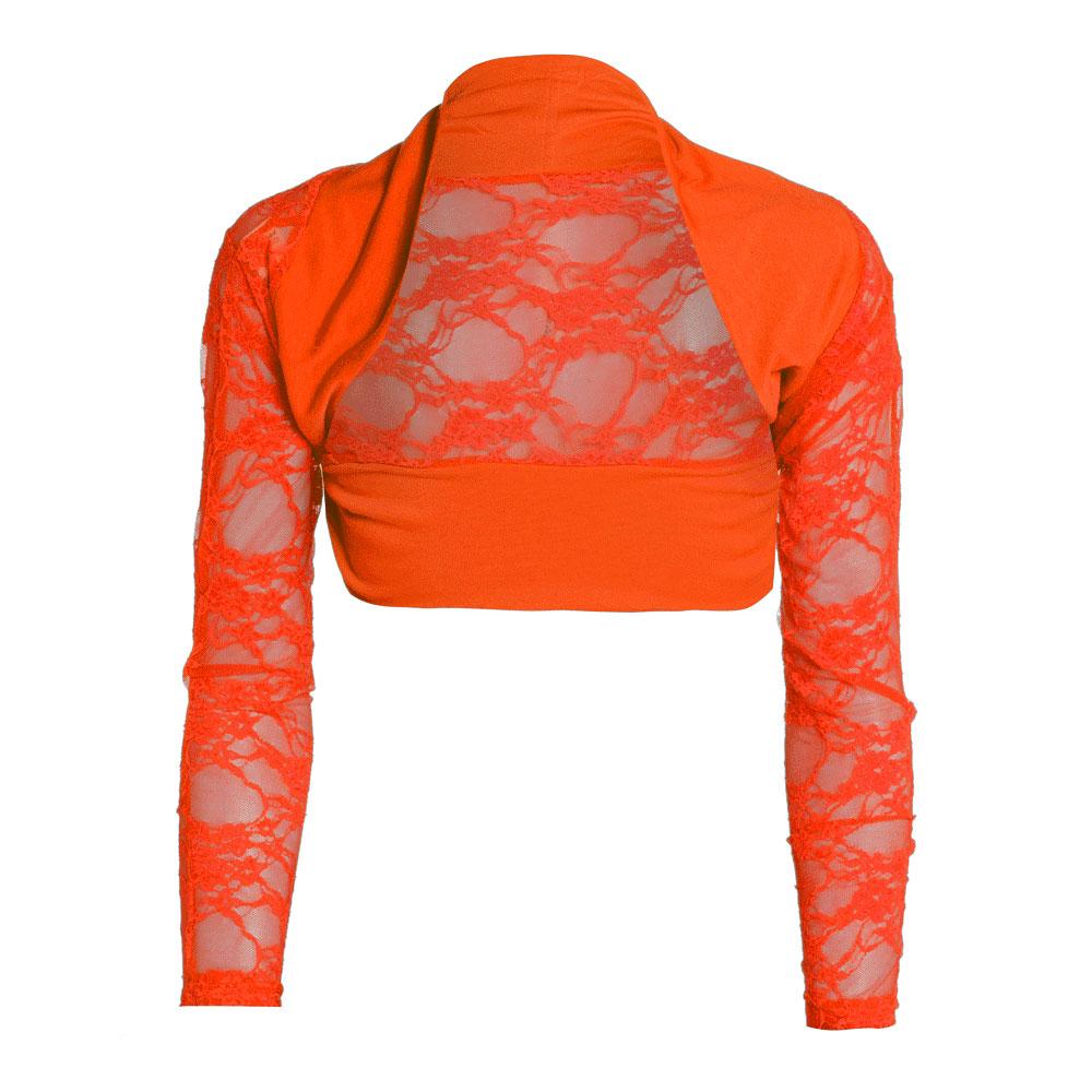 Womens-Lace-Long-Sleeve-Cropped-Shrug-Ladies-Bolero-Shrug-Top-Sizes-8-12