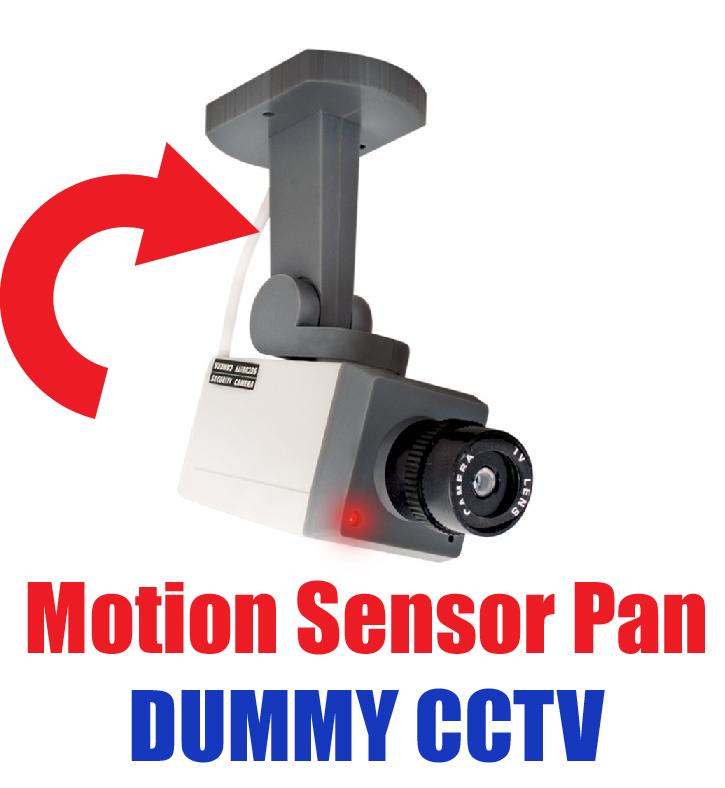 attrappe sicherheits video kamera bewegungsmelder cctv mit. Black Bedroom Furniture Sets. Home Design Ideas