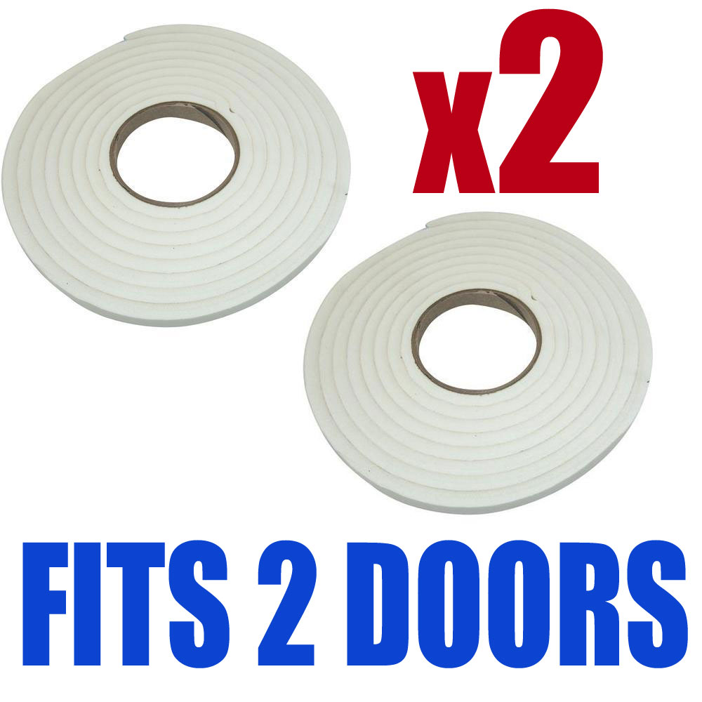9m foam window door draft draught excluder weather strip insulation roll ebay - Weather proofing your home with weather strips and draft stoppers ...