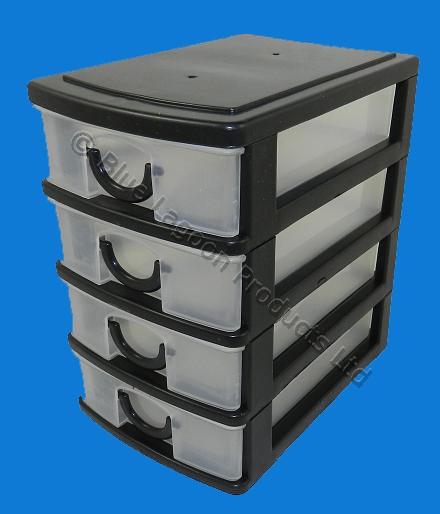 Simple New Desk Drawer Organizer Tray Office Storage Holder Plastic Free