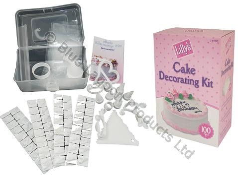 Cake Decoration Letters : 100 PiecexCake Decorating Kit Icing Shapes Letters ...