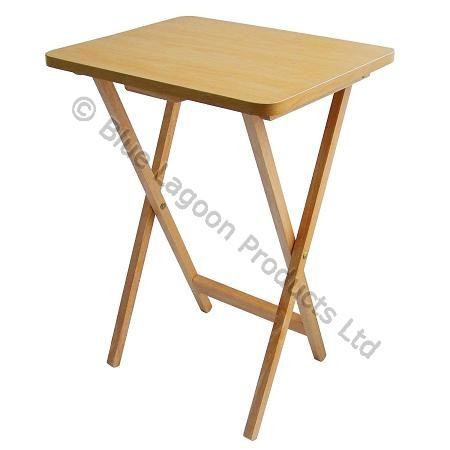 Folding tv table wooden dinner tv table fold down coffee for Petite table pliante bois