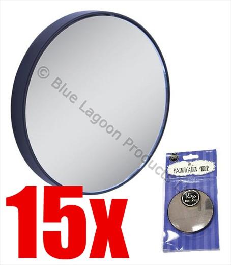 15x Mini Cosmetic Mirror Magnifying Eye Makeup Eyebrow
